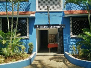 bijou guest house entrance